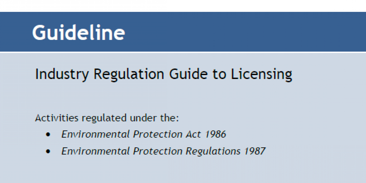 Dwer Industry Regulation Guide