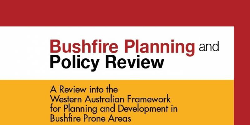 Bushfire Planning And Policy Review